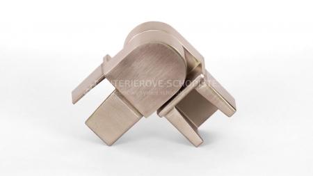 Spojka nerezového madla zábradlí 40 x 40 mm - stavitelná